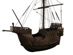 Ship Santa Maria 3D Model
