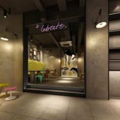 Business – Food Beverage 7-0165 3D Model