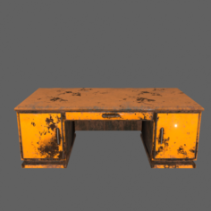 Desk 3D Model