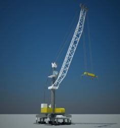 Liebherr LHM 180 3D Model