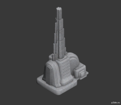 Bulding C 3D Model