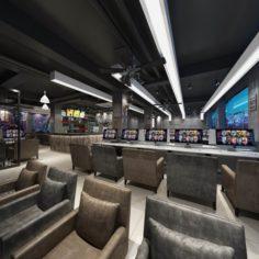 Business – Internet cafes – Internet cafes – 9413 3D Model