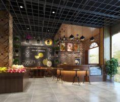 Business – Shop – Fruit Shop – 9414 3D Model