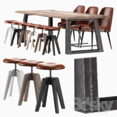 "Dining group ""Loft-11""                                      3D Model"