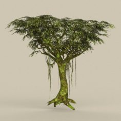 Game Ready Tree 24 3D Model
