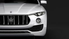Maserati Levante 2018 3D Model