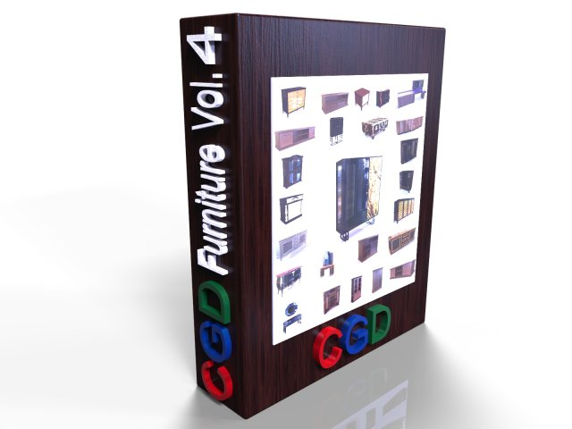 CGD Furniture VOL 4 -Cabinet – 3D Model
