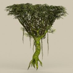 Game Ready Tree 23 3D Model