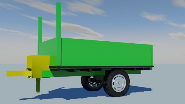 Trailergreen 3D Model