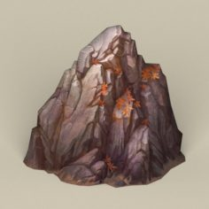 Game Ready Stone Rock 05 3D Model