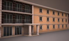 PREFABRICATED BUILDING 6 3D Model