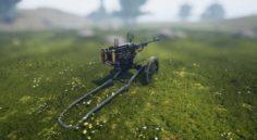 Realistic Gun 3D Model