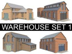Warehouse Set 1 3D Model