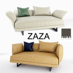 Zaza sofas Deep 3D Model