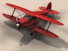 Beechcraft Model 17 Staggerwing – G17s 3D Model