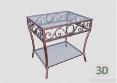 3D-Model  Table. Forging