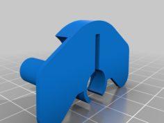 [Snapmaker] Moth Minimal Spool Holder 3D Print Model