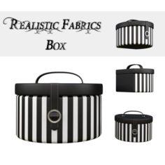 Round Decor Box – Jewellery Box 3D Model