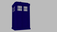 Tardis from Doctor Who Free 3D Model