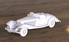 Mercedes 540k 3D Model
