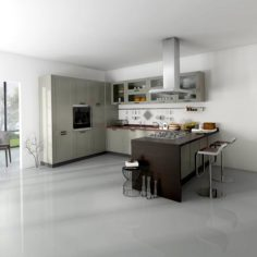 Family – kitchen – restaurant 442 3D Model