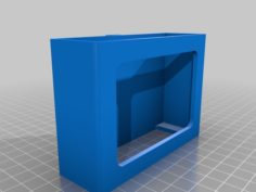 IOGEAR GUS434 USB switch / Ikea SIGNUM chassis 3D Print Model