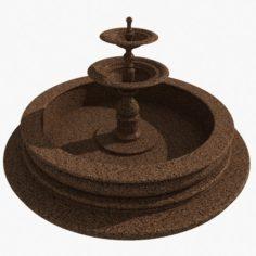 Granite Fountain 2 3D Model