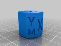 "CoreXY Calibration Ocatagon (""cube"") 3D Print Model"