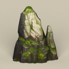 Game Ready Stone Rock 13 3D Model