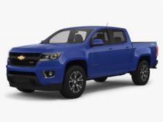 Chevrolet Colorado Z71 2018 3D Model