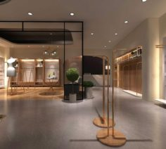 Fashion Women Store 05 3D Model