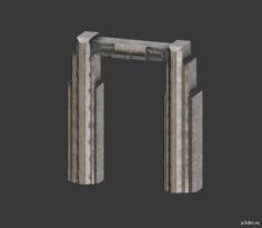 Door Frame (left & right) 3D Model