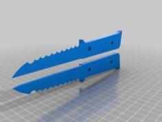 knife 2 3D Print Model
