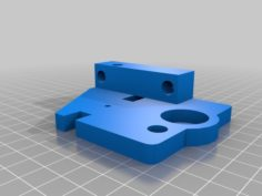 Geeetech i3 Pro B Top Z Bracket with M8 Support. 3D Print Model