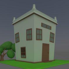 Home fantasy 3D Model