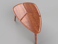 Croatian bistro table 3D Model