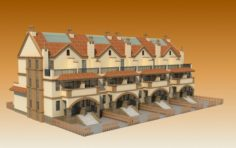 TOWNHOUSES 3D Model