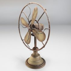 Ventilator Retro 3D Model