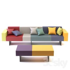 Air Sofa                                      Free 3D Model