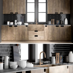 Kitchen 1                                      3D Model