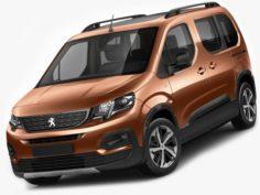 Peugeot Rifter 2019 3D Model