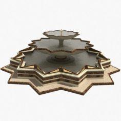 Star Fountain 3D Model