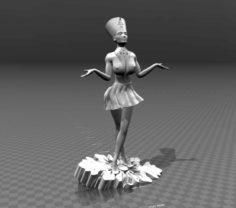 3D Nefertiti 3D Model
