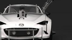 Mad Max Mazda MX 5 Maita Crusher 3D Model