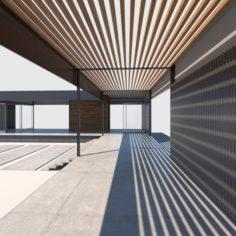 Prefab Desert House 3D Model