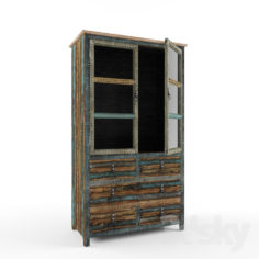Powell Calypso High Cabinet                                      Free 3D Model