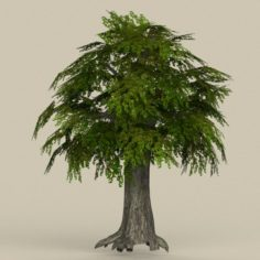 Game Ready Tree 11 3D Model