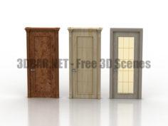 Corsica Doors 3D Collection