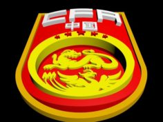 China Football National Team 3d Logo or Badge 3D Model