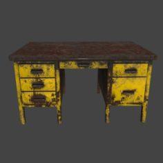 Desk 4 3D Model